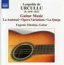 Leopoldo De Urcullu (1830-1843): Gitarrenwerke, CD