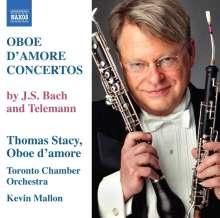 Georg Philipp Telemann (1681-1767): Konzerte für Oboe D'Amore in A & G, CD