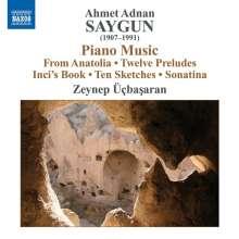 Ahmed Adnan Saygun (1907-1991): Klavierwerke, CD