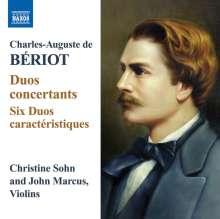Charles-Auguste de Beriot (1802-1870): Duos concertants für 2 Violinen op.57 Nr.1-3, CD