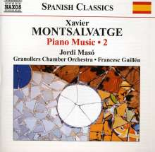 Xavier Montsalvatge (1912-2002): Klavierwerke Vol.2, CD