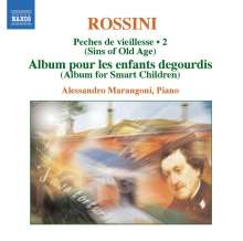 Gioacchino Rossini (1792-1868): Sämtliche Klavierwerke Vol.2, 2 CDs