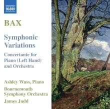Arnold Bax (1883-1953): Symphonische Variationen für Klavier & Orchester, CD