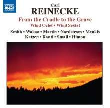 Carl Heinrich Reinecke (1824-1910): Von der Wiege bis zum Grabe für Flöte & Klavier, CD