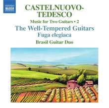 Mario Castelnuovo-Tedesco (1895-1968): Sämtliche Werke für 2 Gitarren Vol.2, CD
