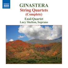 Alberto Ginastera (1916-1983): Streichquartette Nr.1-3, CD