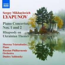 Sergei Lyapunov (1859-1924): Klavierkonzerte Nr.1 & 2 (op.4 & 38), CD