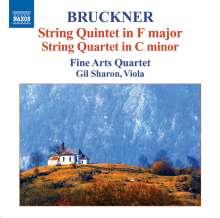 Anton Bruckner (1824-1896): Streichquintett F-dur, CD