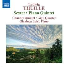 Ludwig Thuille (1861-1907): Sextett op.6 f.Klavier & Blasinstrumente, CD