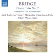 Frank Bridge (1879-1941): Klaviertrios Nr.1 & 2, CD