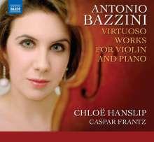 Antonio Joseph Bazzini (1818-1897): Werke für Violine & Klavier, CD