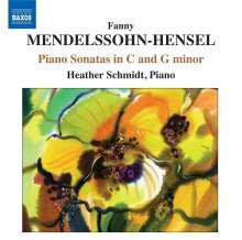 Fanny Mendelssohn-Hensel (1805-1847): Klaviersonaten in c & g, CD