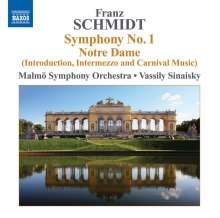 Franz Schmidt (1874-1939): Symphonie Nr.1, CD