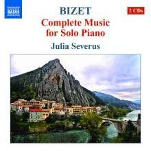 Georges Bizet (1838-1875): Sämtliche Klavierwerke, 2 CDs