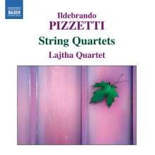 Ildebrando Pizzetti (1880-1968): Streichquartette Nr.1 & 2, CD