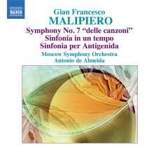 Gian Francesco Malipiero (1882-1974): Symphonie Nr.7, CD