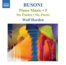 Ferruccio Busoni (1866-1924): Klavierwerke Vol.5, CD