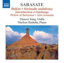 Pablo de Sarasate (1844-1908): Musik für Violine & Klavier Vol.3, CD