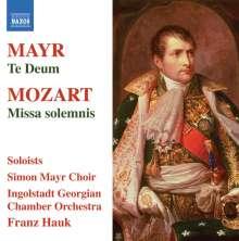 Johann Simon Mayr (1763-1845): Te Deum, CD