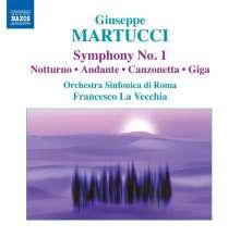 Giuseppe Martucci (1856-1909): Symphonie Nr.1, CD