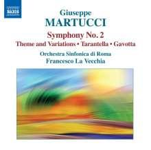 Giuseppe Martucci (1856-1909): Symphonie Nr.2, CD