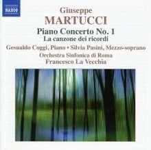 Giuseppe Martucci (1856-1909): Klavierkonzert Nr.1, CD