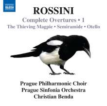 Gioacchino Rossini (1792-1868): Sämtliche Ouvertüren Vol.1, CD