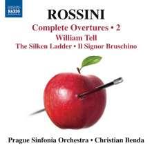 Gioacchino Rossini (1792-1868): Sämtliche Ouvertüren Vol.2, CD