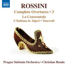 Gioacchino Rossini (1792-1868): Sämtliche Ouvertüren Vol.3, CD