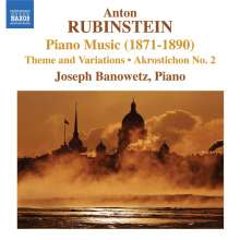 Anton Rubinstein (1829-1894): Klavierwerke, CD
