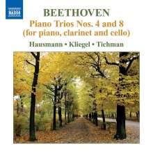 Ludwig van Beethoven (1770-1827): Klaviertrios Nr.4 & 8, CD