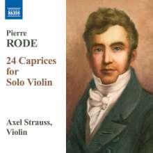Pierre Rode (1774-1830): Capricen Nr.1-24 für Violine solo, CD