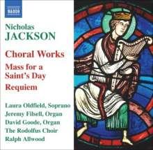 Nicholas Jackson (geb. 1934): Chorwerke, CD
