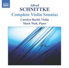 Alfred Schnittke (1934-1998): Violinsonaten Nr.1-3, CD