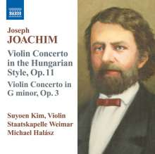 Joseph Joachim (1831-1907): Violinkonzert Nr.2, CD