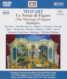 Wolfgang Amadeus Mozart (1756-1791): Die Hochzeit des Figaro (Ausz.), DVD-Audio