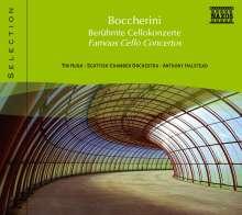 Naxos Selection: Boccherini - Berühmte Cellokonzerte, CD