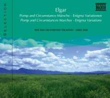 Naxos Selection: Elgar - Pomp & Circumstance Marches, CD