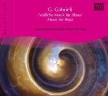 Naxos Selection: Gabrieli - Bläsermusik, CD