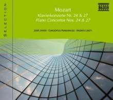 Naxos Selection: Mozart - Klavierkonzerte Nr.24 & 27, CD
