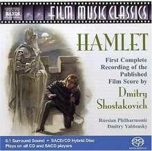 Dmitri Schostakowitsch (1906-1975): Hamlet op.116 (Filmmusik), SACD