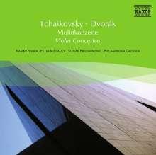 Naxos Selection: Tschaikowsky/Dvorak - Violinkonzerte, CD