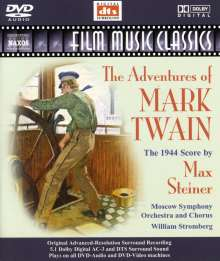 Max Steiner (1888-1971): The Adventures of Mark Twain (Filmmusik), DVD-Audio