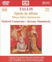 Thomas Tallis (1505-1585): Spem in Alium, DVD-Audio