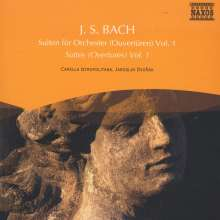 Naxos Selection: Bach - Orchestersuiten, CD