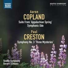 "Paul Creston (1906-1985): Symphonie Nr.3 ""Three Mysteries"", CD"