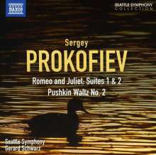 Serge Prokofieff (1891-1953): Romeo & Julia-Suiten op.64a+b, CD