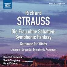Richard Strauss (1864-1949): Symphonische Fantasien & Fragmente, CD