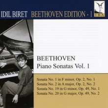 Idil Biret - Beethoven Edition 1/Klaviersonaten Vol.1, CD