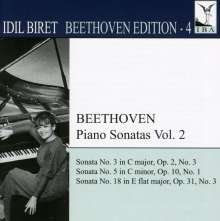 Idil Biret - Beethoven Edition 4/Klaviersonaten Vol.2, CD